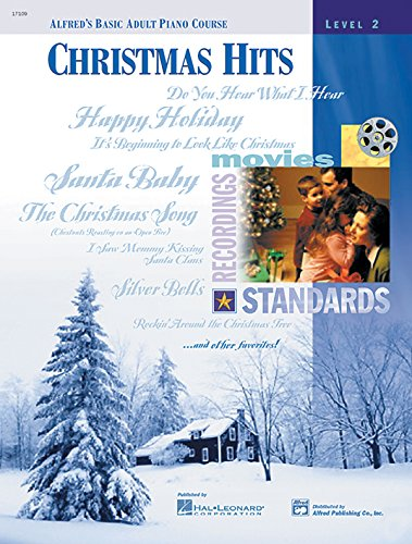 9780739004050: Alfred's Basic Adult Piano Course Christmas Hits, Bk 2