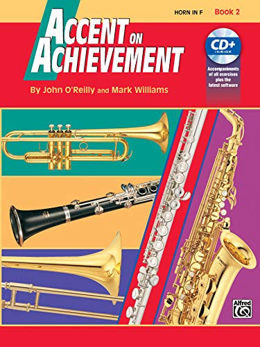 9780739004746: Accent on Achievement, Bk 2: Horn in F, Book & CD