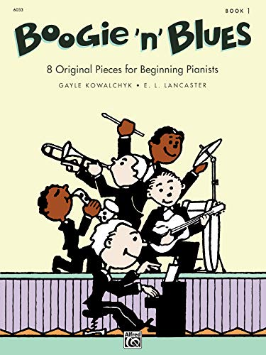 9780739005033: Boogie 'n' Blues, Bk 1: 8 Original Pieces for Beginning Pianists