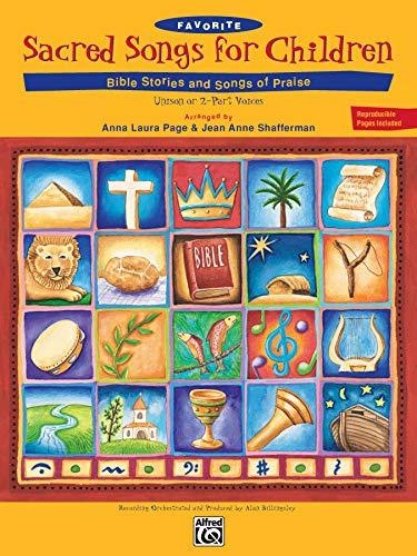 9780739005040: Favorite Sacred Songs for Children: Bible Stories & Songs of Praise