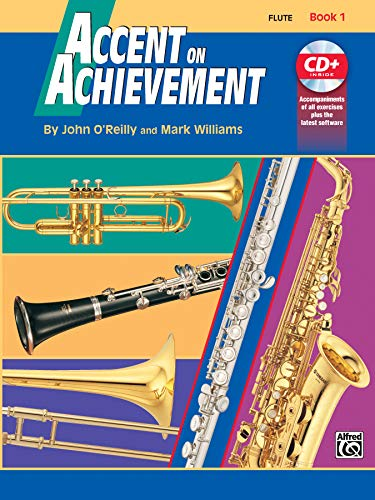 9780739005118: Accent on Achievement, Bk 1: Flute, Book & CD [Lingua inglese]