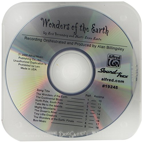 9780739005217: Wonders of the Earth: SoundTrax (CD)