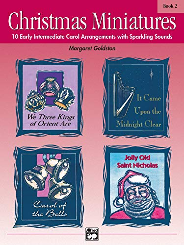 9780739005712: Christmas Miniatures, Bk 2: 10 Early Intermediate Carol Arrangements with Sparkling Sounds