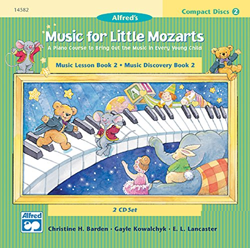 9780739005910: Music for Little Mozarts: Music Lesson Book 2-Music Discovery Book 2