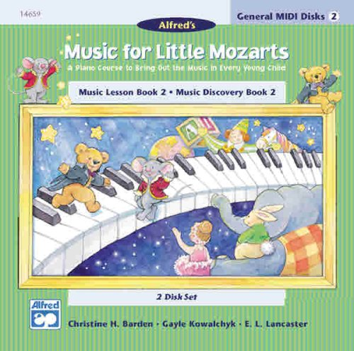 9780739005927: Music for Little Mozarts: GM 2-Disk Sets for Lesson and Discovery Books, Le