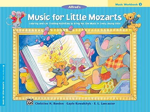 9780739006436: Music for Little Mozarts Music Workbook, Bk 3