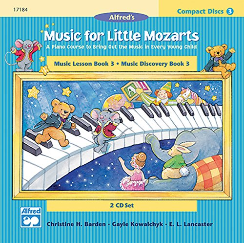 9780739006474: Music for Little Mozarts: Music Lesson Book 3/ Music Discovery Book 3