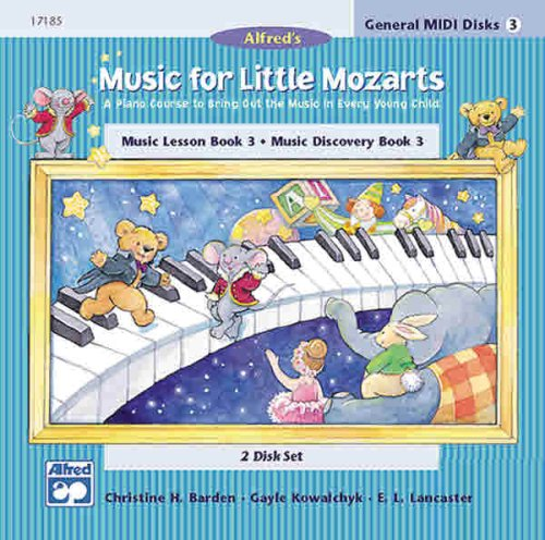 9780739006481: Music for Little Mozarts: GM 2-Disk Sets for Lesson and Discovery Books, Le