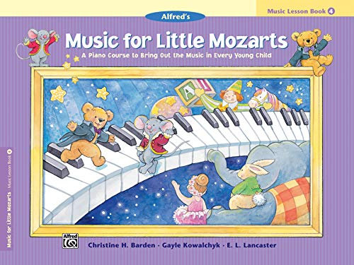 9780739006504: Music for Little Mozarts Music Lesson Book, Bk 4: A Piano Course to Bring Out the Music in Every Young Child