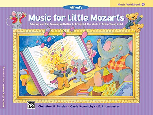 9780739006511: Music for Little Mozarts Music Workbook, Bk 4
