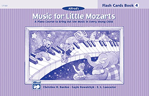 9780739006535: Music for Little Mozarts Flash Cards: A Piano Course to Bring Out the Music in Every Young Child (Level 4), Flash Cards