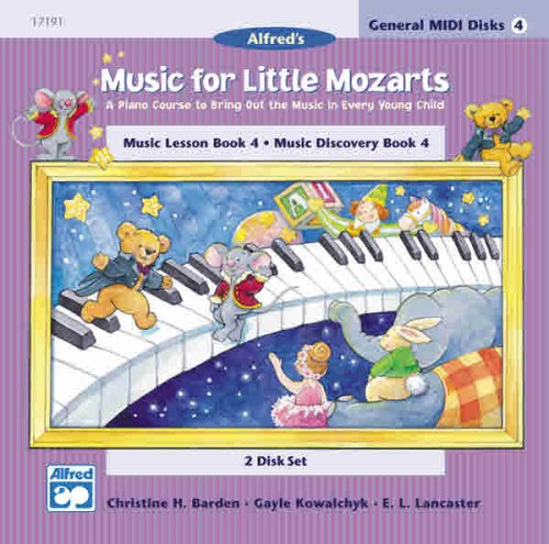 9780739006559: Music for Little Mozarts: GM 2-Disk Sets for Lesson and Discovery Books, Le
