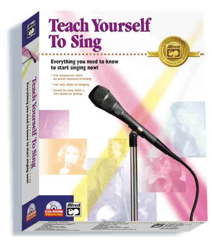 9780739007136: Alfred's Teach Yourself to Sing: CD-ROM