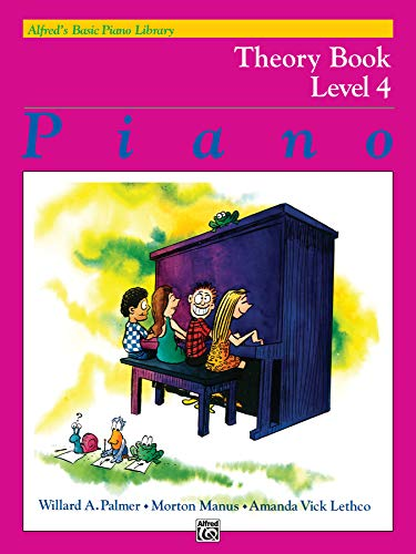 9780739007440: Alfred's Basic Piano Library Theory, Bk 4