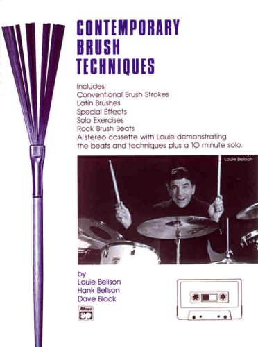 Contemporary Brush Technique (0739007521) by Bellson; Louie; Henry; Black; Dave