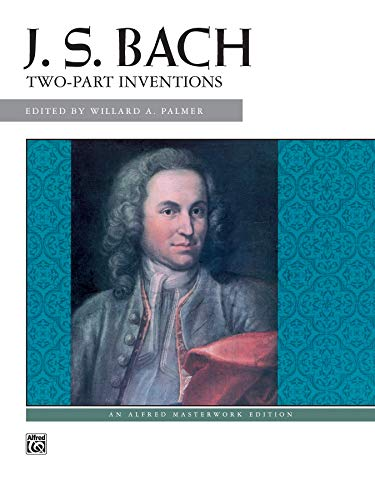 9780739007594: Bach -- Two-Part Inventions (Alfred Masterwork Editions)