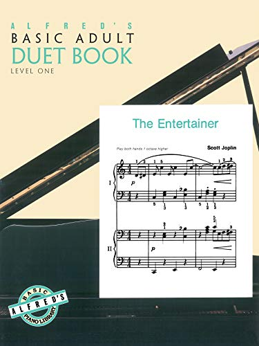 9780739007808: Alfred's Basic Adult Piano Course Duet Book, Bk 1