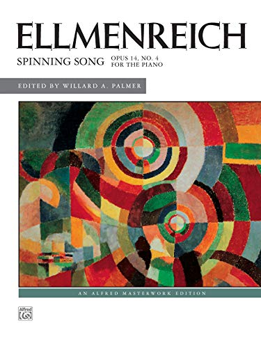 9780739008218: Spinning Song, Op. 14, No. 4 for Piano Solo