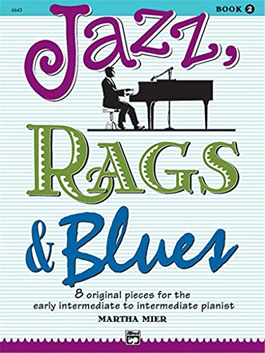 9780739008508: Jazz, Rags & Blues, Book 2 (Alfred's Basic Piano Library)