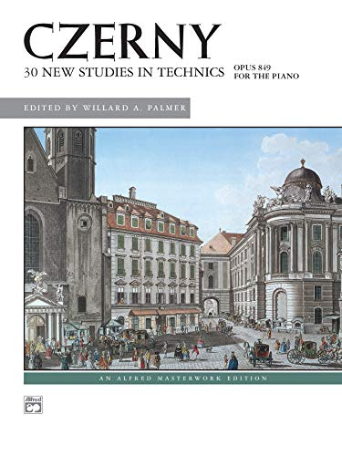 9780739008522: 30 New Studies in Technics: For the Piano - Opus 849
