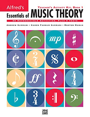 9780739008737: Alfred's Essentials of Music Theory, Bk 1: Teacher's Activity Kit
