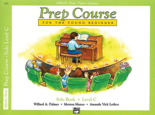 9780739009000: Alfred's Basic Piano Prep Course Solo Book, Bk C: For the Young Beginner (Alfred's Basic Piano Library)