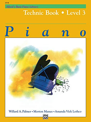 9780739009017: Alfred's Basic Piano Library Technic Book: Level 3