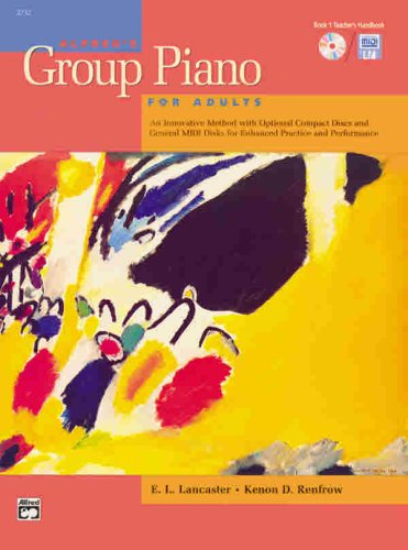 9780739009109: Alfred's Group Piano for Adults, Bk 1: Teacher's Handbook