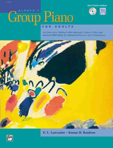 9780739009123: Alfred's Group Piano for Adults Teacher's Handbook, Bk 2
