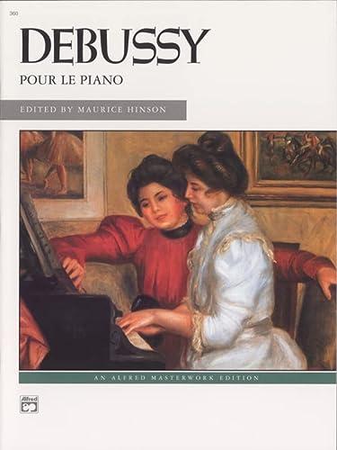 9780739009178: Pour le piano (Alfred Masterwork Edition)