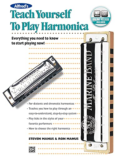 9780739009598: Alfred's Teach Yourself to Play Harmonica with CD