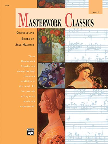 9780739009642: Masterwork Classics: Level 7, Book & CD (Alfred Masterwork Editions)