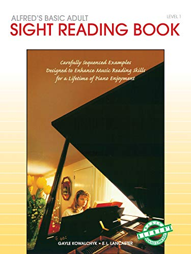 9780739009796: Alfred's Basic Adult Piano Course Sight Reading, Bk 1