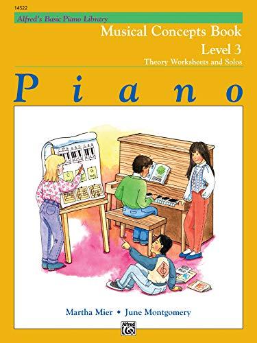 Alfred's Basic Piano Library, Piano: Musical Concepts: Martha Mier/ June