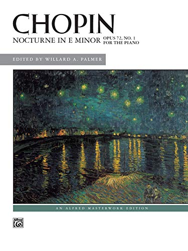 9780739009888: Nocturne in E minor, Op. 72, No. 1: Sheet (Alfred Masterwork Edition)