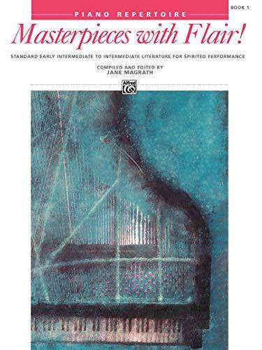 9780739009970: Masterpieces With Flair] Bk 1 Livre Sur la Musique (Alfred Masterwork Editions)