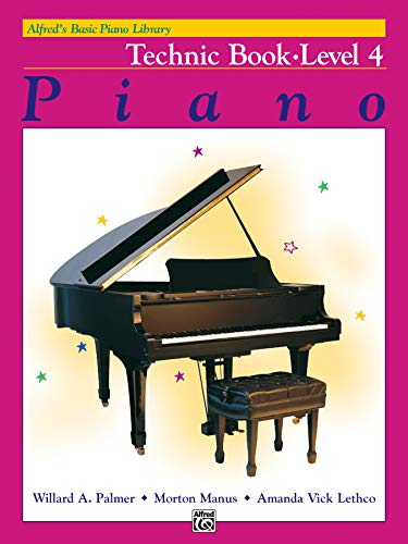 9780739010013: Alfred's Basic Piano Course Technic, Bk 4 (Alfred's Basic Piano Library)
