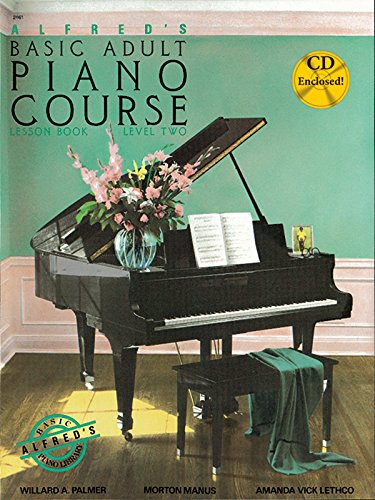 9780739010037: Alfred's Basic Adult Piano Course Lesson Book, Bk 2: Book & CD