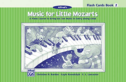 9780739010211: Music for Little Mozarts, Flash Cards, Level 2