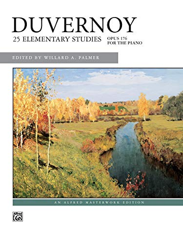 9780739010235: Duvernoy -- 25 Elementary Studies, Op. 176 (Alfred Masterwork Edition)