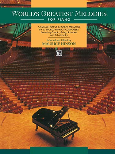 9780739010266: World's Greatest Melodies For Piano