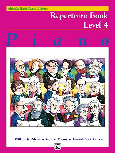 9780739010662: Alfred's Basic Piano Library Repertoire, Bk 4