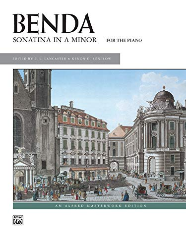 Sonatina in A Minor Format: Sheet: By Georg Anton