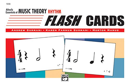 9780739010730: Alfred's Essentials of Music Theory: Rhythm Flash Cards, Flash Cards