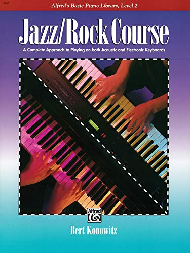 9780739010839: Alfred's Basic Jazz/Rock Course Lesson Book: Level 2 (Alfred's Basic Piano Library)