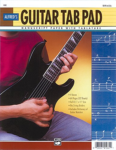9780739010884: Guitar Tab Pad: Loose Pages (3-Hole Punched for Ring Binders)