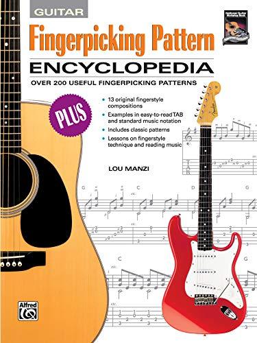 Fingerpicking Pattern Encyclopedia: Over 200 Useful Fingerpicking Patterns (Paperback): Lou Manzi