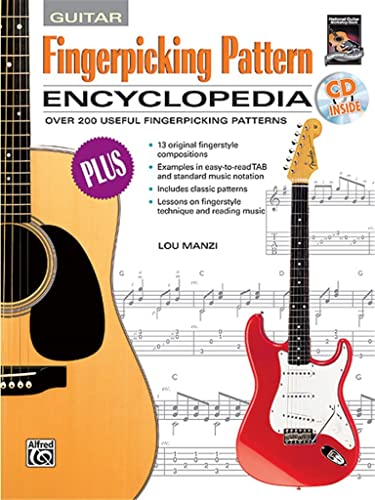 9780739010921: Fingerpicking Pattern Encycloped: Over 200 Useful Fingerpicking Patterns, Book & CD
