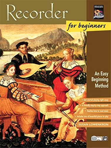 9780739011010: Recorder for Beginners (Book/CD) +CD