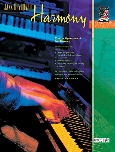 9780739011072: Jazz Keyboard Harmony: Take the Mystery out of Jazz Harmony, Book & CD